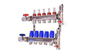 M-8330P Stainless Steel Manifold Pro 8 Port with Purge