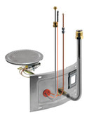 Rheem AM39922-1 Water Heater Burner Assembly Kit