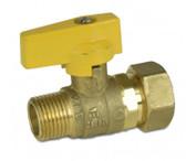 Pro-Flex PFGV-PF12M 1/2in MIP x 1/2in ProFlex CSST Gas Ball Valve