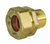 """ProFlex CSST 3/4"""" MIP (1/2"""" FIP) x 3/4"""" Male Adapter"""