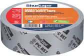 Shurtape PC 857 Listed/Printed Cloth Duct Tape, 48mm x 55 Meters, Grey