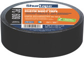Shurtape PC 609 Performance Grade Co-Extruded Cloth Duct Tape, 48mm x 55m, Black