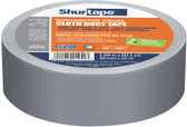 Shurtape PC 609 Performance Grade Co-Extruded Cloth Duct Tape, 48mm x 55m, Silver, 24 Pack