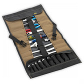 CLC 1173 32 Pocket Socket Tool Roll Up Pouch Organizer