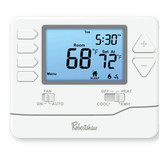 Robertshaw RS8210 Non-programmable, 2 heat, 1 cool Thermostat