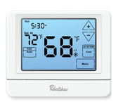 Robertshaw RS9110T 7-day/5-1-1 Programmable 1 Heat, 1 Cool Touchscreen Thermostat