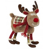 Maison Chic Christmas Whimsical Deer Pillow Boy H88049