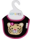 Izzy & Owie Jungle Cat Baby Bib 79353