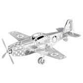 Metal Earth P– 51 Mustang MMS003