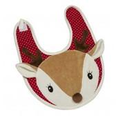 Maison Chic Christmas Deer Bib H88005