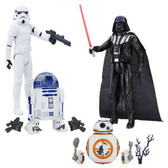 "Star Wars TFA Hero Series 12"" Action Figures Wave 5 Set Includes 4 Figures HSB3908E"