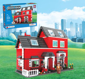 BRICTEK Builder Red House 21601