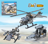 BRICTEK Air Force Attack Helicopter 15706