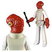 Star Wars Admiral Ackbar Jumbo Kenner Action Figure GE80309