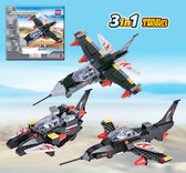 BRICTEK Air Force Special Forces Sonic Fighter 3 In 1 15707