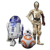 Star Wars TFA C-3PO R2-D2 And BB-8 ArtFX 1:10 Statue Set KTSW114