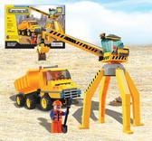 BRICTEK Construction Crane With Truck 14004