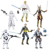 "Star Wars TFA The Black Series 6"" Action Figures Wave 6 HSB3834F1"