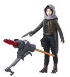 "Star Wars Rogue One 3 3/4"" Sergeant Jyn Eros HSB7072B"