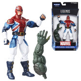 "Marvel 6"" Energized Emissaries Captain America Civil War Legends Figures Wave 3 HSB6355C"