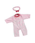 Adora Pink Stripe Sleeper 20603013