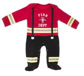 Ganz Fire Department Sleeper 0 - 6 Months ER45025