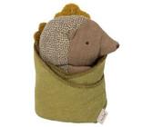 Maileg Baby Hedgehog W/ Leaf 16-5960-00