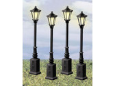 Lionel Lionelville Street Lamps Set Of 4  624156