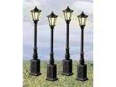 Lionel Lionelville Street Lamps Set Of 4  624156