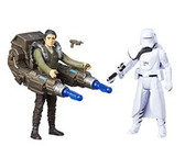 Star Wars 3 3/4 Rogue One Snowtroop Officer And Poe Dameron Action Figure 2 Pack Wave 2 HSB 7073B