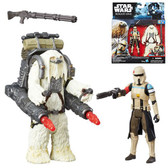 "Star Wars 3 3/4"" Rogue One Scarif Stormtrooper Moroff Action Figure 2 Pack Wave 2  HSB7073B"