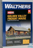 Walthers Golden Valley Freight House Ho Kit 933-3533