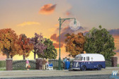 Walthers Scene Master Single Arm Blvd Street Light HO Scale 949-4301
