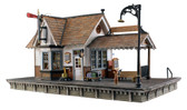 Woodland Scenics HO Scale The Depot Built And Ready BR5052
