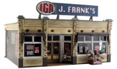Woodland Scenics J. Frank's Grocery O Scale Built And Ready BR5851