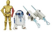 "Star Wars TFA 3 3/4"" R2-D2/C-3PO Action Figure 2-Pack Wave 3 HSB3955C"