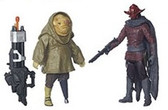 "Star Wars TFA 3 3/4"" Sidon Ithano/ First Mate Quiggold Action Figure 2-Pack Wave 3 HSB3955C"