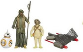 "Star Wars TFA 3 3/4"" BB-8 / Unkar's Thug/ Jakku Scavenger Action Figure 2-Pack Wave 3 HSB3955C"