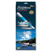 SeaPlane Flying Model Rubber Band Powered Blue 9881