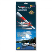 Seaplane Flying Model Rubber Band Powered Red 9880
