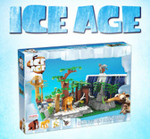 BRICTEK Ice Age Sid, Manny, Diego, and Scrat 00916