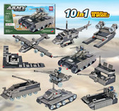BRICTEK Army Mega Tank 15014