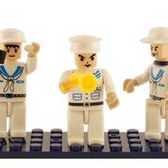 BRICTEK  Navy 3 Mini Figures 19310