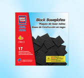 BRICTEK 17 Black Assorted Baseplates 19013