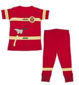 Ganz Baby Wee Pro Pajamas Fireman Cotton (12-18 Months) BG3655