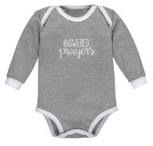 Ganz Baby Diaper Shirt Answered Prayers Cotton (3-6 Months) BG3791