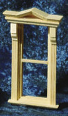 "Houseworks Victorian Window Nonworking With Interior Trim 1/2"" Scale H5042"