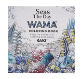 Ganz Wama Seas The Day Coloring Book (ER48571