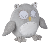 Ganz Baby Grey Owl With Rattle BG3775