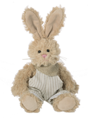 "Ganz Malcolm Bunny In Overalls 12"" HE10226"